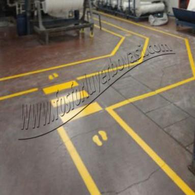 Fabrika yaya yolu çizgileri