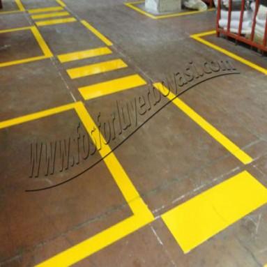 Fabrika içi yol çizgileri standartları
