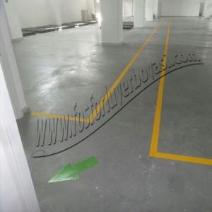 yönlendirme okları yeşil renk yer çizgileri