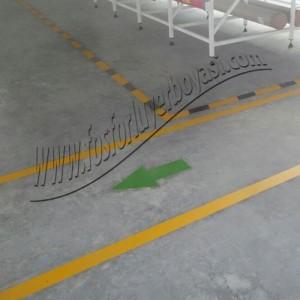 fosforlu yer okları yer çizgileri