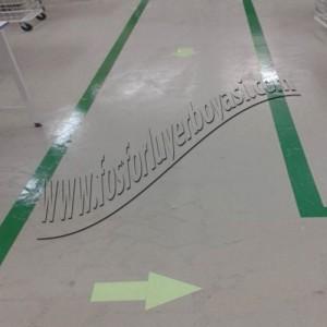 fosforlu yerboyası  yeşil yer boyası fosforlu