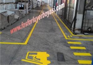 sarı yaya kaldırımı görsel örnekleri