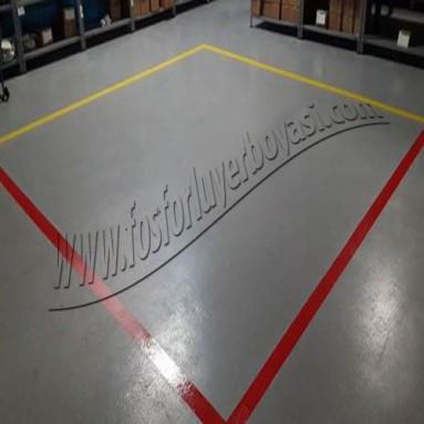 fabrika içi red ve bekleme alanı belirlemesi