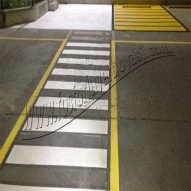 asfalt zemin yer boya uygulamaları yaya geçitleri