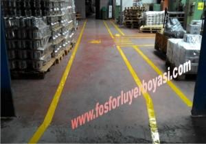fabrika yer boyası
