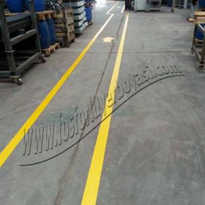 yer boyası yer çizgileri fabrika içi yer uygulamaları