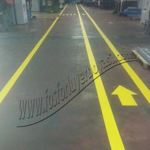 yer çizgi boyası fabrika içi sarı yol boyası yer okları boyası