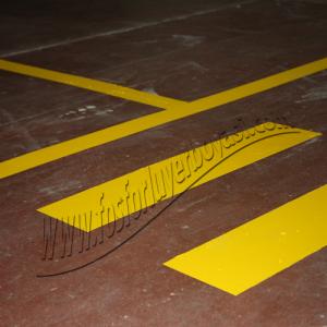 yerboyası sarı yol çizgileri megam tekstil