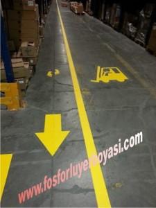 sarı renk yer boyaları hangi standartlara göre belirleniyor