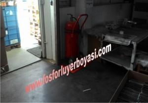 yangın tüpü yerleri belirleme kırmızı renk
